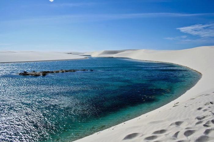 عکس هایی دیدنی از طبیعت صحرای سفید برزیل