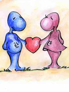 بک گراند های زیبا و عاشقانه برای موبایل
