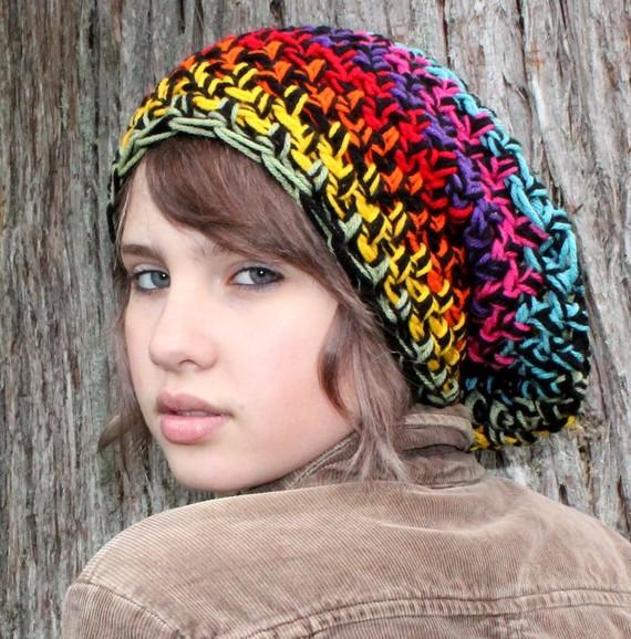 جدیدترین مدلهای شال و کلاه بافتنی دخترانه