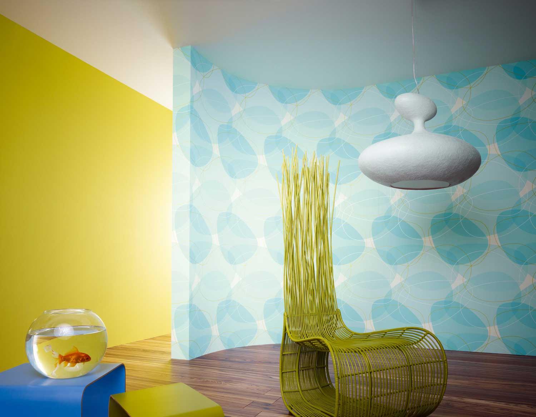 استفاده از کاغذ دیواری در دکوراسیون منزل