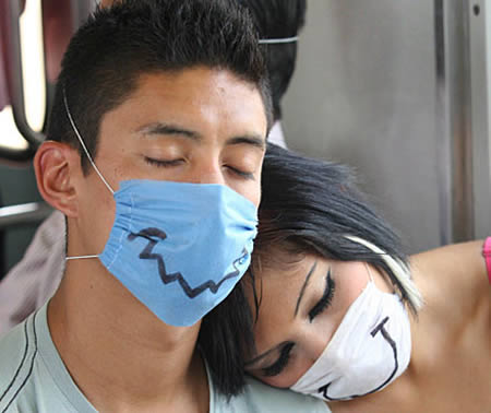 عکس های جالب از فشن آنفولانزای خوکی