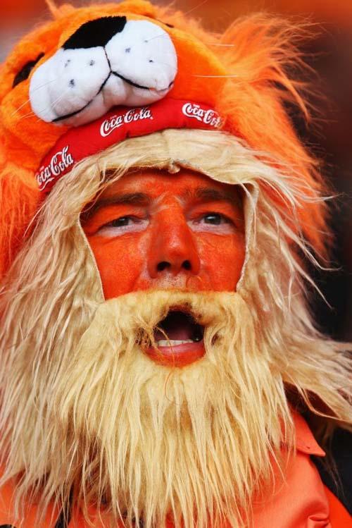 عکس های خنده دار و جالب از چهره هواداران فوتبال