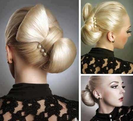 مدل شینیون مو جدید