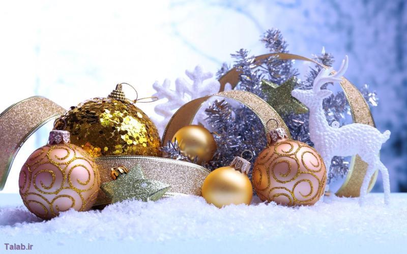 تصاویر کارت پستالی زیبای کریسمس
