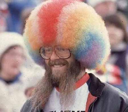 عکس های خنده دار ترین مدل موهای دنیا