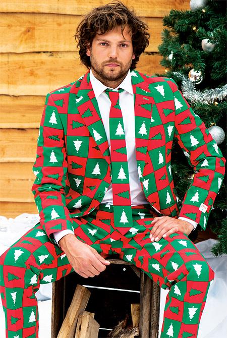 مدل کت و شلوار و کراوات کریسمس