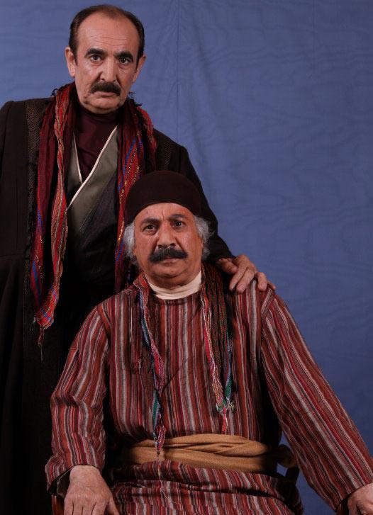 عکس های جالب از بازیگران قهوه تلخ