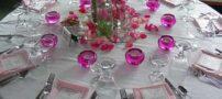 چیدمان میز برای مهمانی ها
