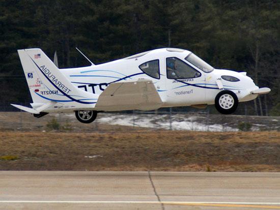 عکس هایی از پرواز ماشین پرنده