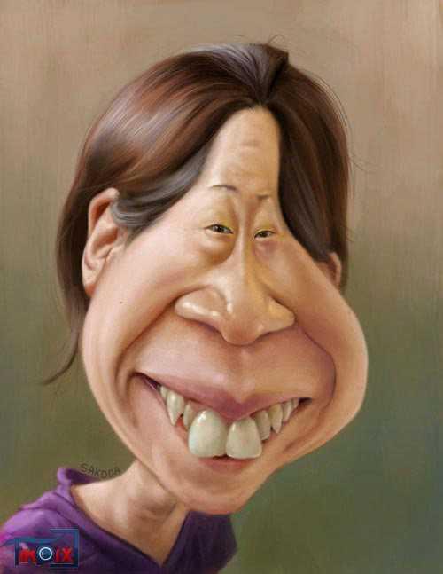 کاریکاتور بامزه از افراد مشهور دنیا