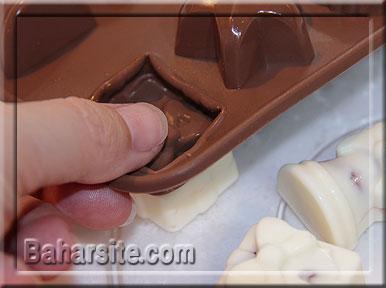 شکلات مخصوص کریسمس آدمک
