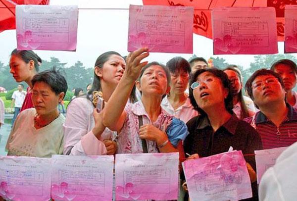 عکس های جالب و دیدنی از نمایشگاه همسریابی در چین