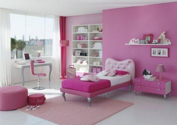 عکس مدل های دکوراسیون اتاق دخترانه
