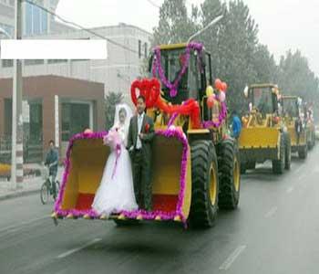 ماشین عروس های جالب و دیدنی (عکس)