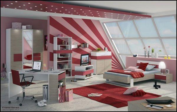 جدیدترین مدل دکوراسیون اتاق خواب دخترانه (2)