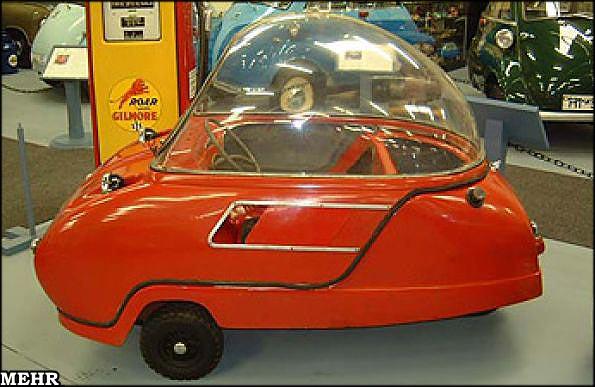 عجیب ترین خودروهای تاریخ (عکس)