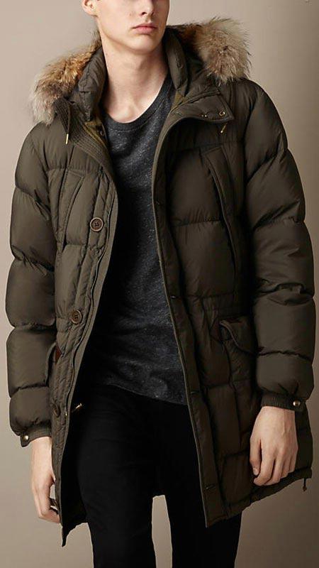 مدل های جدید کت مردانه Burberry زمستان