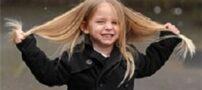 اهداء موهای بلند این پسربچه زیبا به خیریه