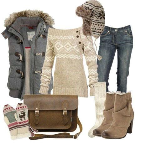 مدل ست های لباس زمستانی زنانه سال