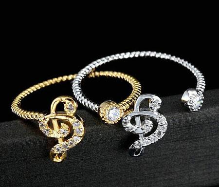 مدل های جدید و زیبای انگشتر جواهر
