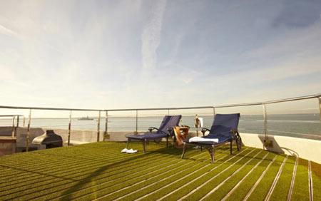 قلعه دریایی زیبا که تبدیل به هتل شد !+ عکس