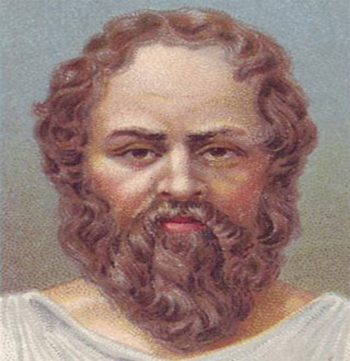 سقراط و مرد رنجیده