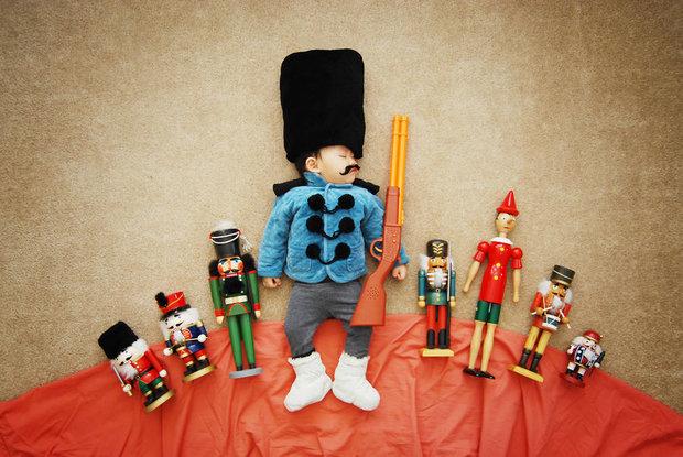 تصاویر نوزادی که به دنیا سفر کرد