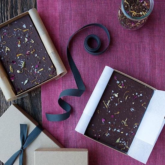 طرز تهیه شکلات چای تخته ای