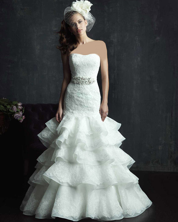 مدل های جدید و زیبای لباس عروس راسته و کلوش