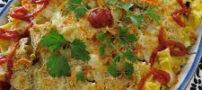 طرز تهیه گراتن پاستا و مرغ