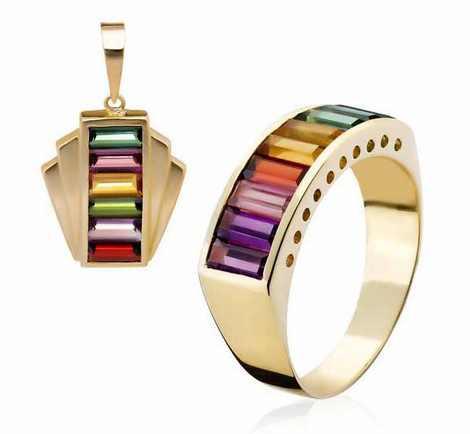 مدل ست جواهرات و زیورآلات (15)