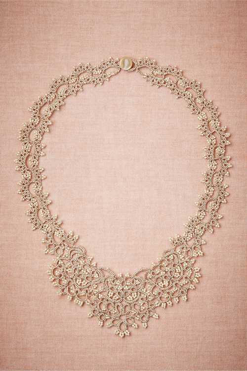 زیباترین مدل های گردنبند عروس
