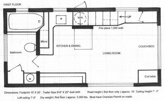 مدل دکوراسیون فوق العاده یک خانه 50 متری