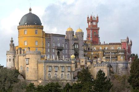 آشنایی با کاخ ملی پنا در پرتغال (عکس)