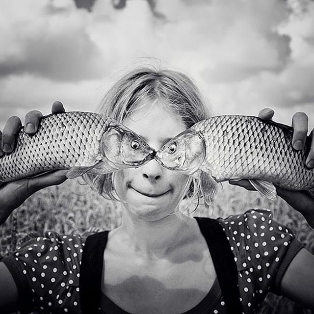 لحظات دیدنی و طنز در هنر عکاسی