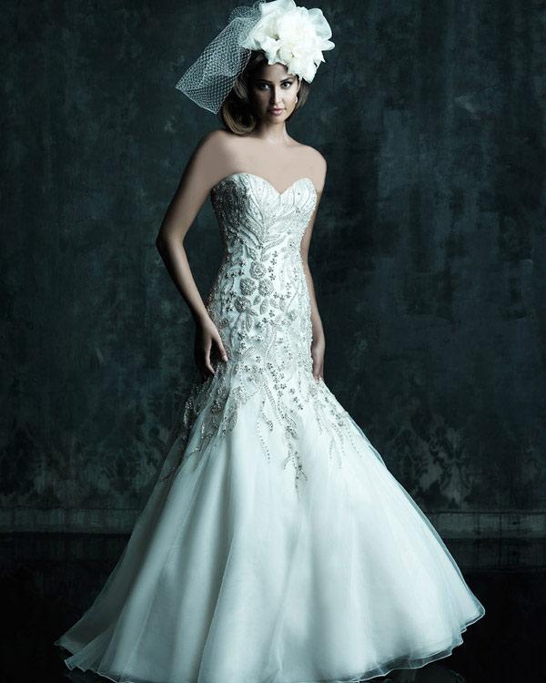 تصاویر مدل لباس های عروس جدید 2014 مدل لباس عروس راسته و کلوش مدل لباس مدل لباس عروس لباس عروس جدید لباس عروس کلوش.