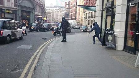 قمه کشی در لندن توسط سارقان + تصاویر