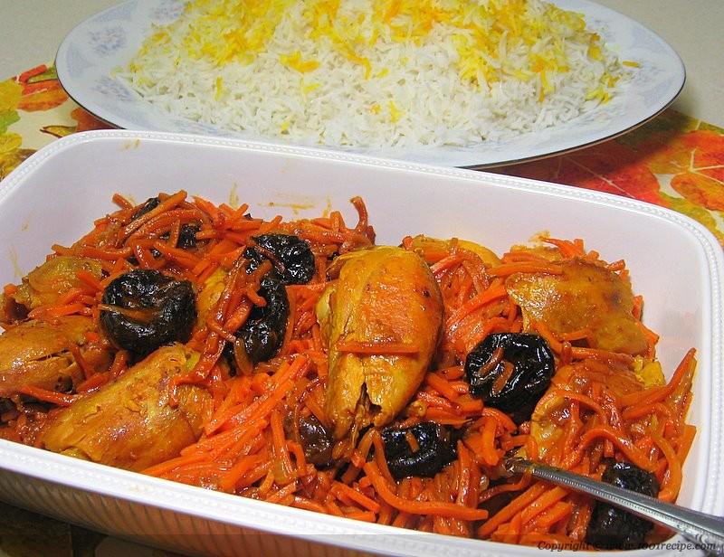 طرز تهیه خورش هویج تبریزی