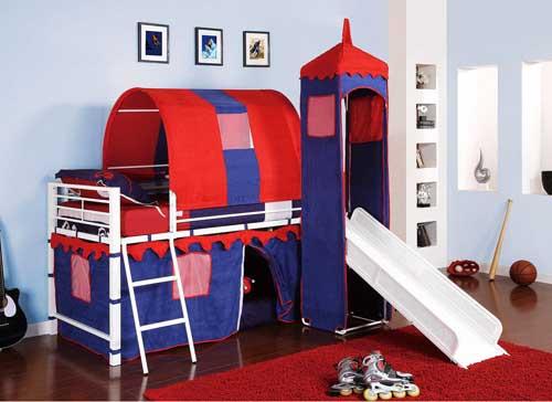 تخت خواب های جالب کودکانه