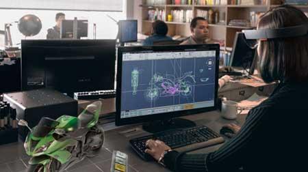 مایکروسافت عینک واقعیت مجازی عرضه می کند + تصاویر