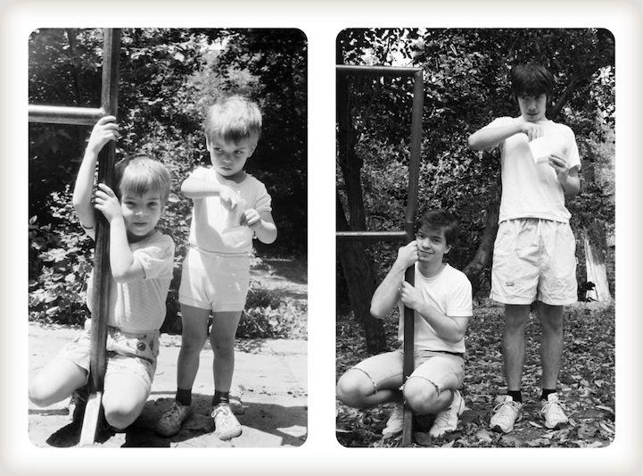 عکس های خلاقانه از عکاسی مشابه در طول 20 سال