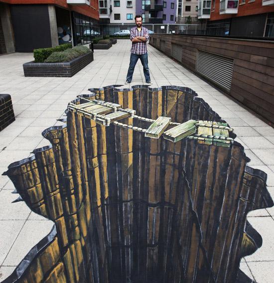نقاشی های 3D خیره کننده