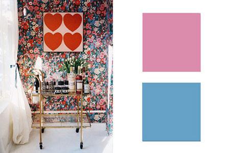 زیباترین ترکیب رنگ های سال 2015