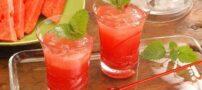 طرز تهیه نوشیدنی خنک هندوانه