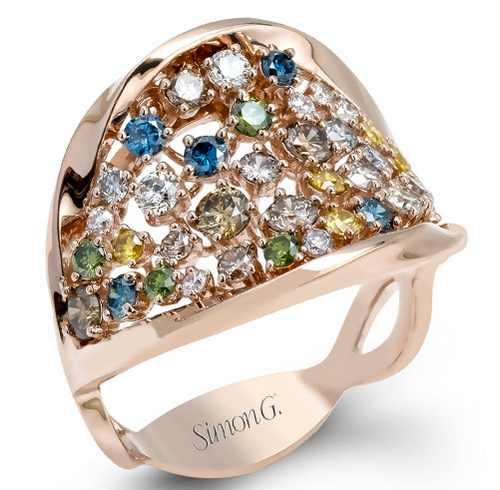 مدل های جدید درخشان و جذاب انگشترهای Simon G