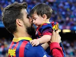 عکس های بازیکنان بارسلونا در جشن تولد پسر شکیرا و پیکه