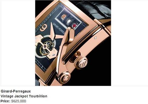 گران ترین ساعت های مچی در جهان