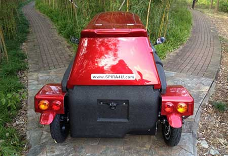 خودروی دوگانه سوز برقی و گازی