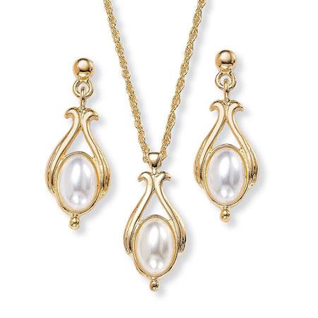 جدیدترین نیم ست های طلا و جواهر
