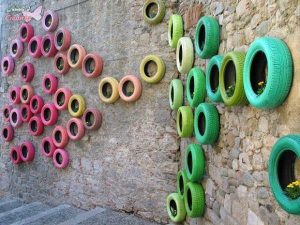 بازیافت تایر های فرسوده